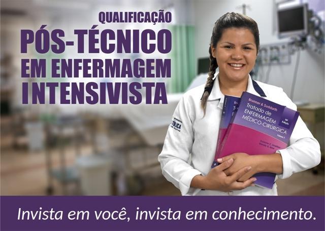 HU lança Qualificação Pós-Técnico de Enfermagem Intensivista