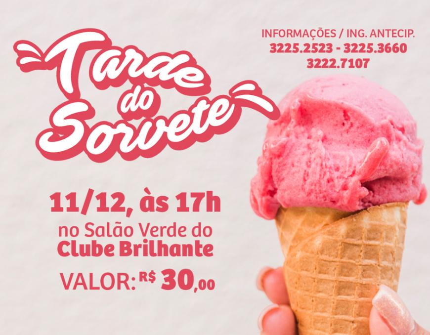 Grupo de Apoio promove Tarde do Sorvete 2019