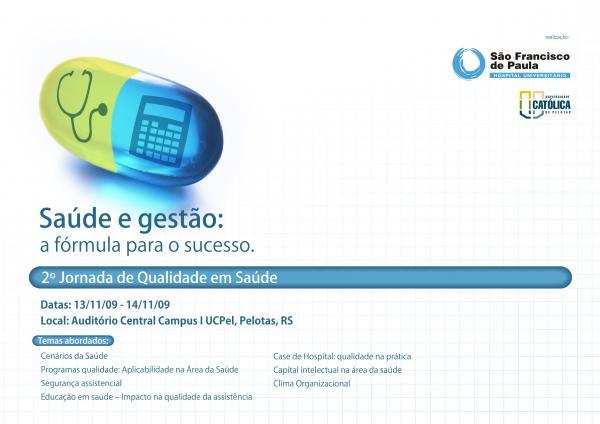 HUSFP promove 2ª Jornada de Qualidade em Saúde