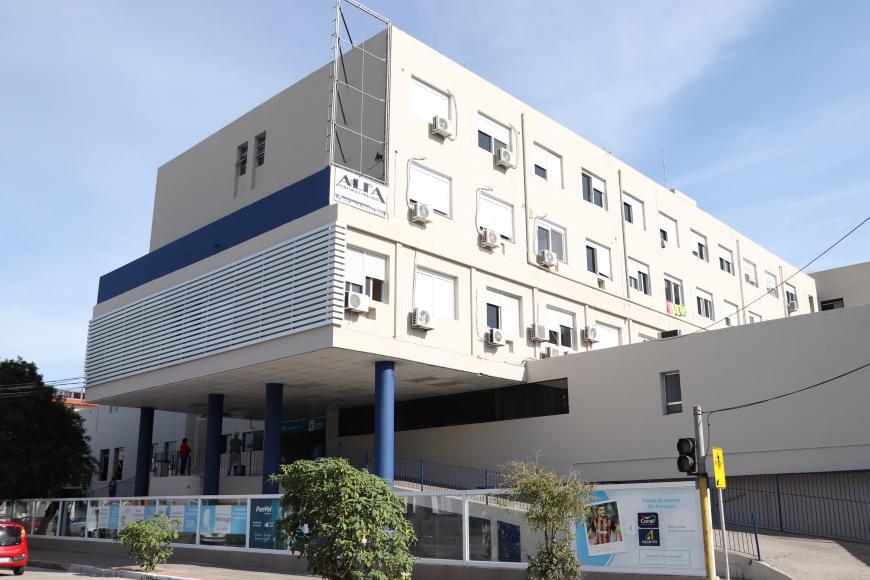 HUSFP inaugura novas UTI's com a presença de Eduardo Leite