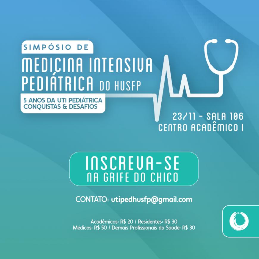 HU promove I Simpósio de Medicina Intensiva Pediátrica da instituição