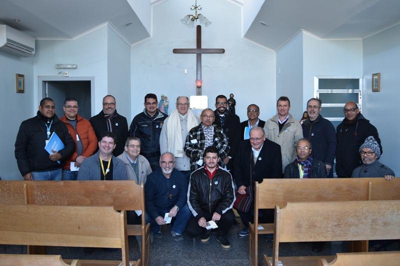 """Presbíteros e Diocesanos visitam HU durante tour """"Eu Faço a UCPel"""""""