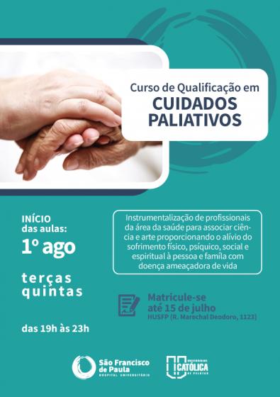 HU lança Cursos de Qualificação em Cuidados Paliativos e Instrumentação Cardíaca