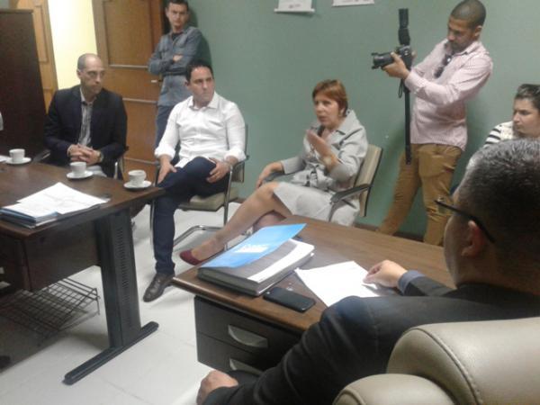 Presidente da Azonasul visita Hospital São Francisco de Paula