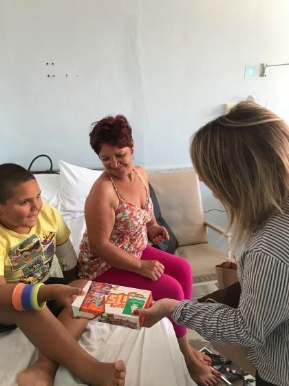 HU comemora natal com pacientes