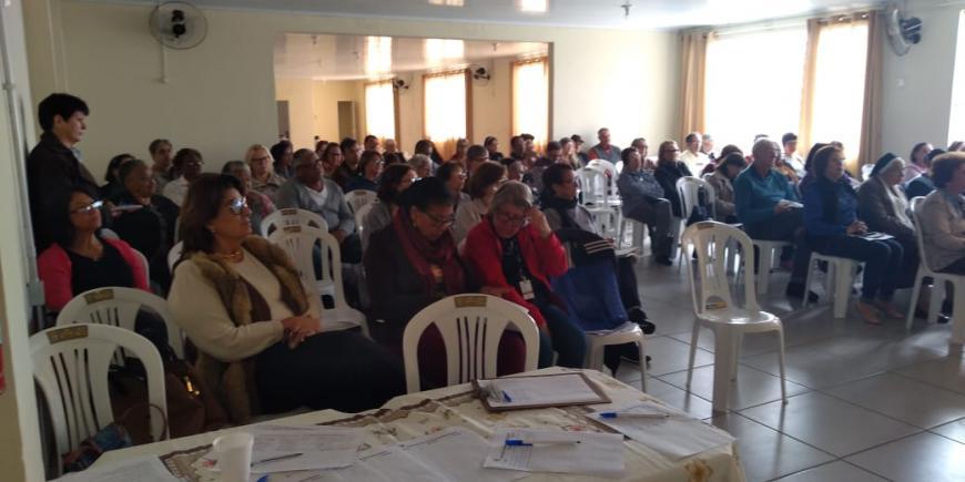 Capelania do HU participa do 2º Encontro de Formação para Visitadores e Cuidadores de Doentes