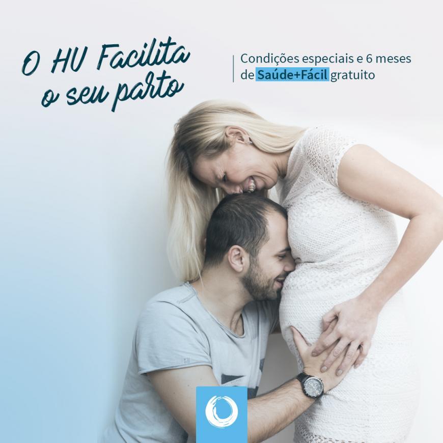 HUSFP lança desconto para contratos de parto formalizados em 2018