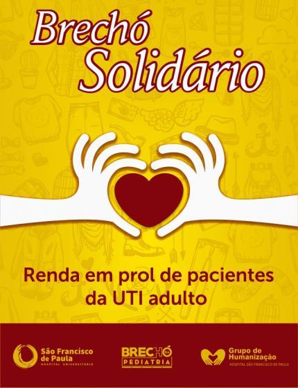HUSFP promove Brechó Solidário em pról do CTI