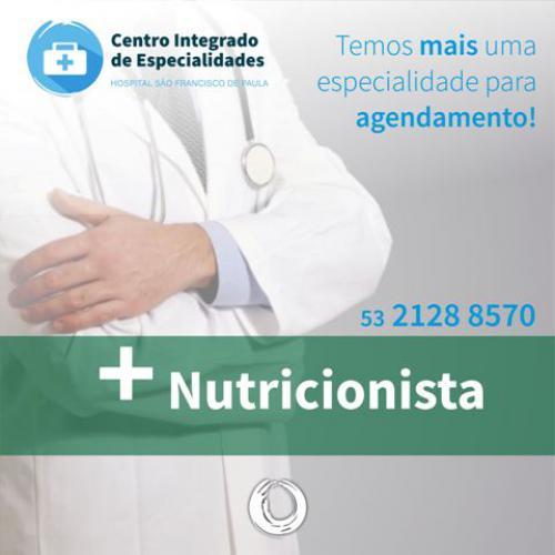 Consulta com Nutricionista já está disponível no HUSFP