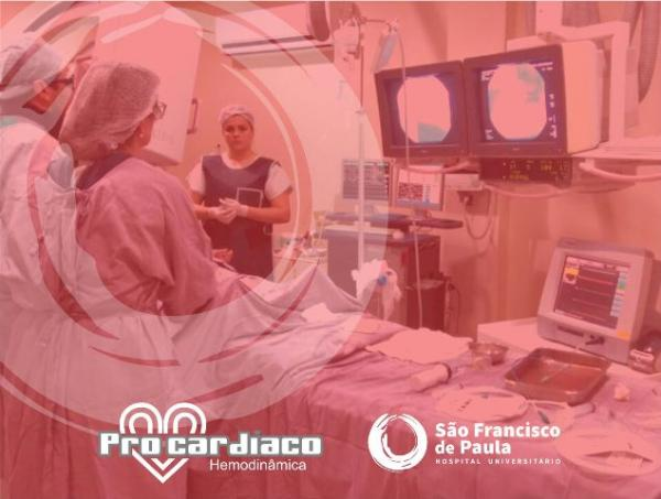 Serviço de Hemodinâmica é oferecido no Hospital São Francisco de Paula