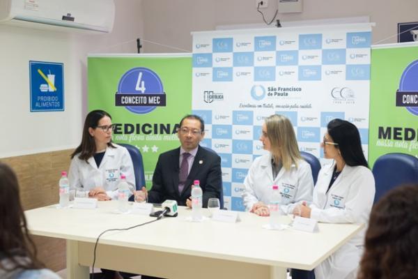 Uma segunda chance de vida que marca o Hospital São Francisco de Paula
