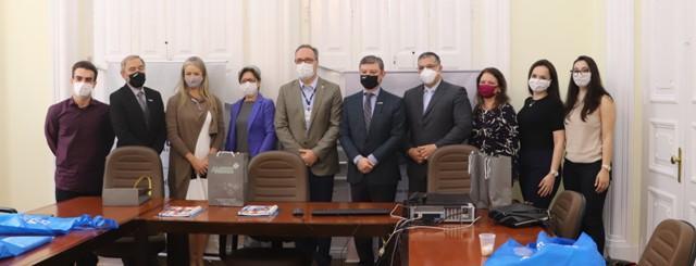 UCPel recebe visita de representantes da AMRIGS
