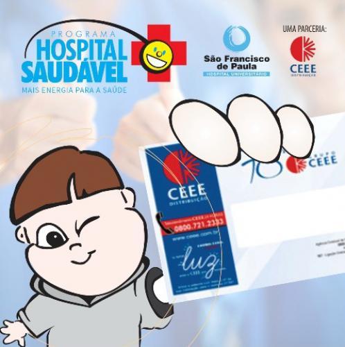 HUSFP relança campanha para Programa Hospital Saudável CEEE