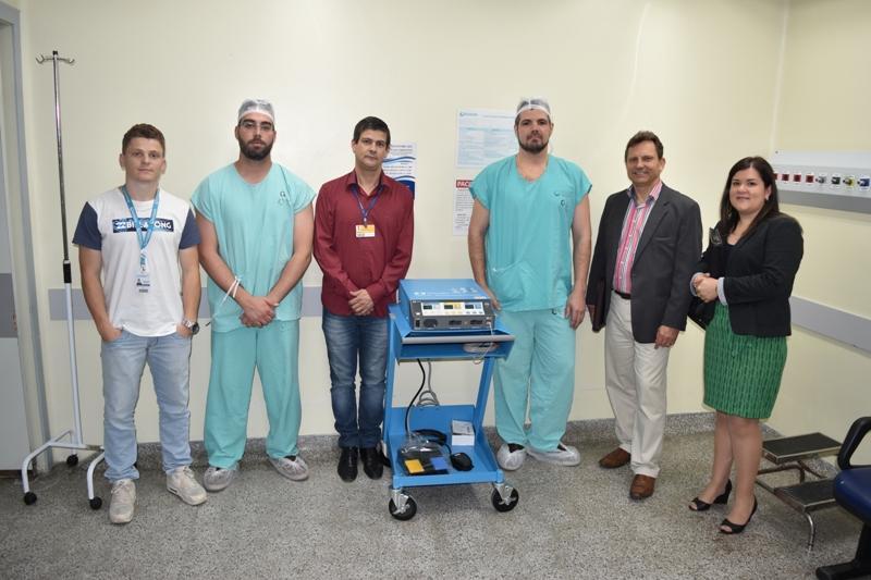 Parceria entre HU e Suprimed garante eletrocaltério ao Centro Cirúrgico