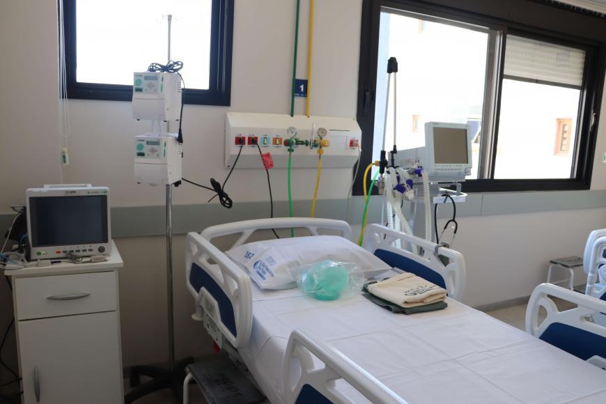 HUSFP amplia números de leitos UTI-Covid