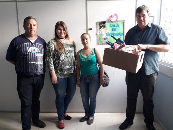 Pediatria do HU recebe doação de vereador
