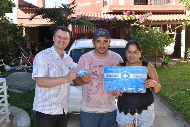 Ganhador da promoção do Cartão Saúde + Fácil é premiado