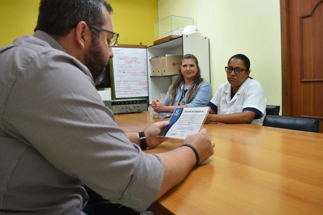 Direção realiza homenagem ao setor de Pediatria