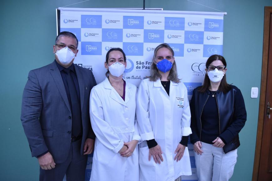 Médica Francine Machado assume Núcleo de Ginecologia e Obstetrícia do HUSFP