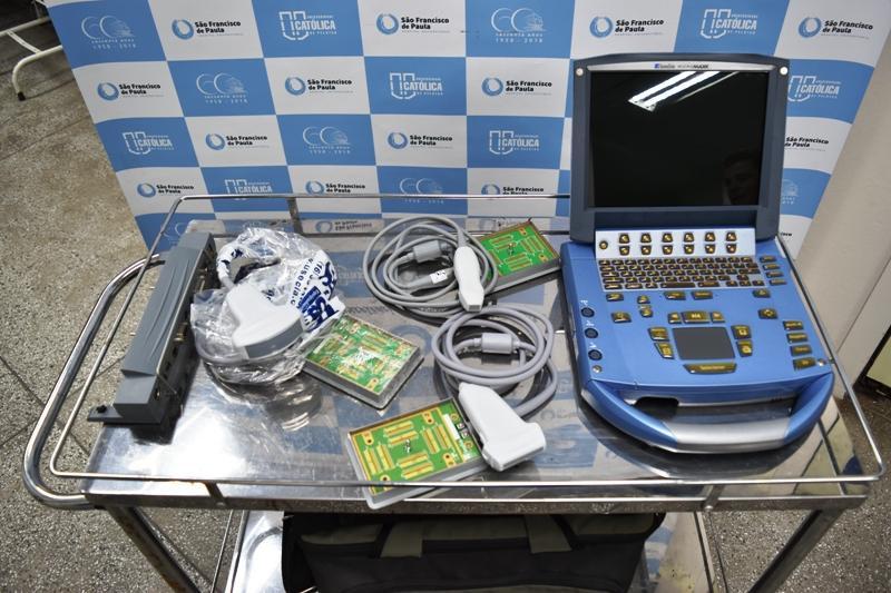 HUSFP adquire Ultrassom Portátil para UTI Pediátrica com verba do Troco Amigo Panvel
