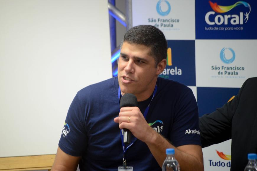 Gerente Regional de Vendas Sul da Tintas Coral, Fabiano Andrade de Araújo