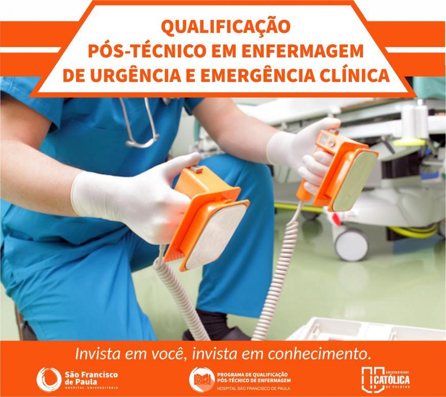 HU lança Pós Técnico em Enfermagem de Urgência e Emergência Clínica